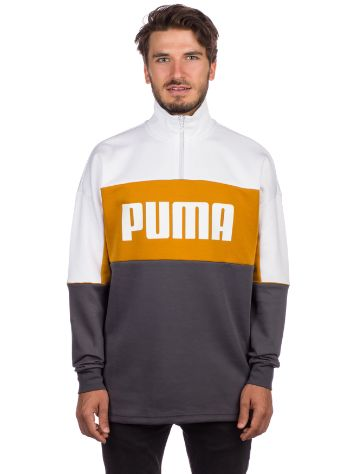 Puma Retro Crew Turtle Rib Neck Sweater