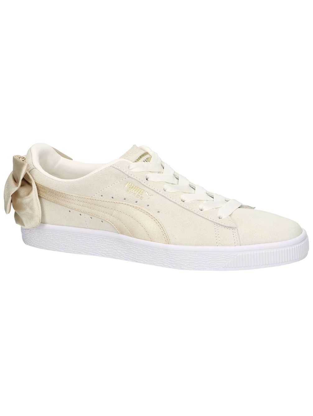 Suede Bow BSQT Sneakers