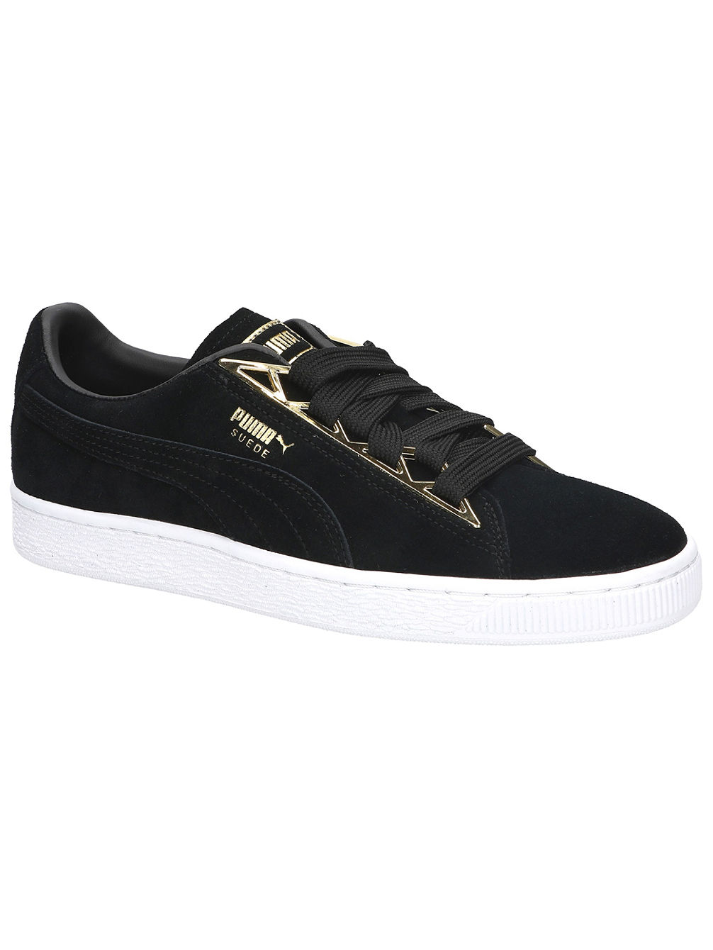 cheap for discount db57f 7114b Suede Jewel Metalic Sneakers
