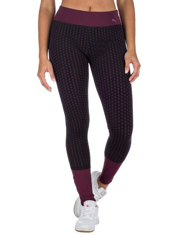 Puma Luxe Mesh Tight Jogginghose