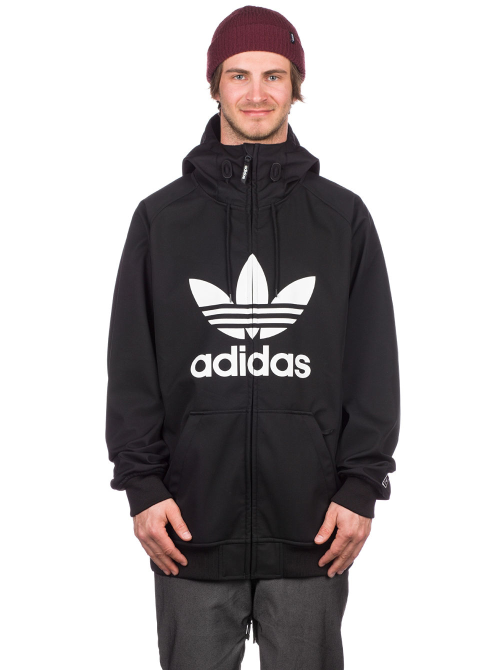 e20df762ab6c Buy adidas Snowboarding Greeley Soft Shell Jacket online at Blue Tomato