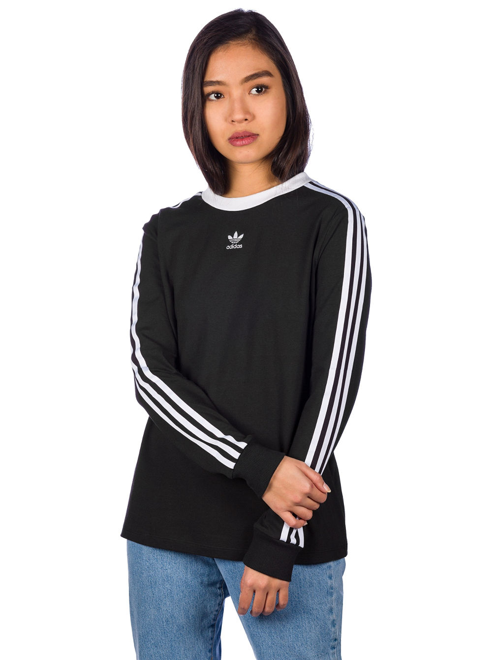 63b8c9fd644c4 Buy adidas Originals 3 Stripes Long Sleeve T-Shirt online at Blue Tomato