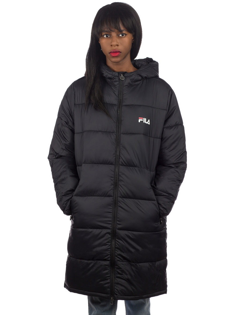 Zia Long Puff Jacke