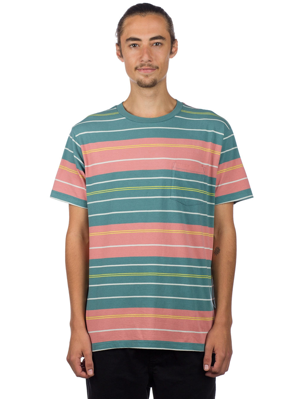 Rusholme Stripe T-Shirt