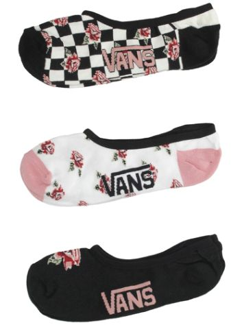 Vans Rose Check (1-7) 3 Pck Socks