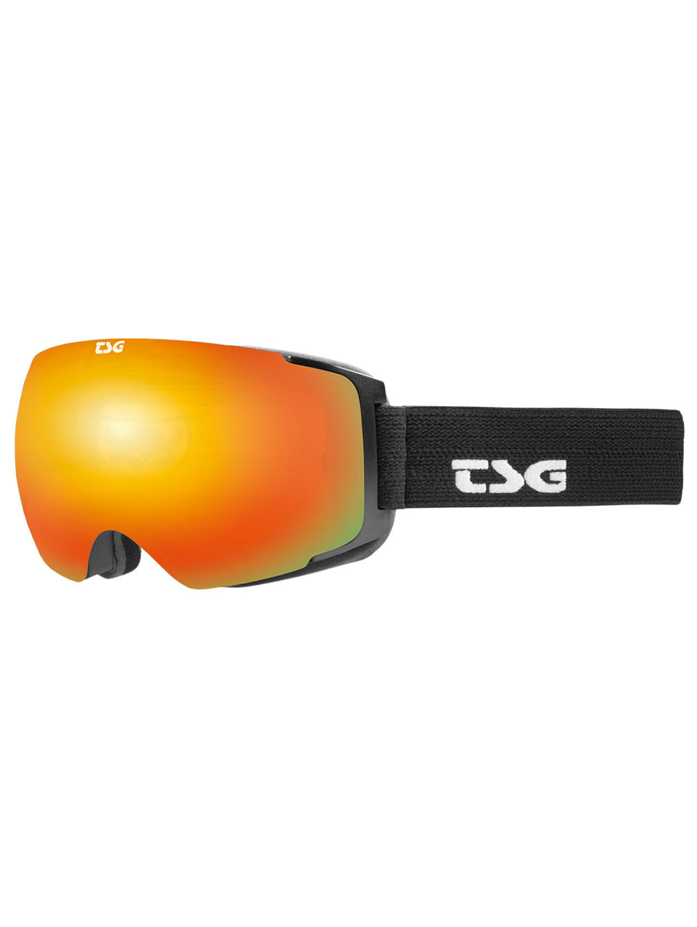 Two Solid Black Goggle