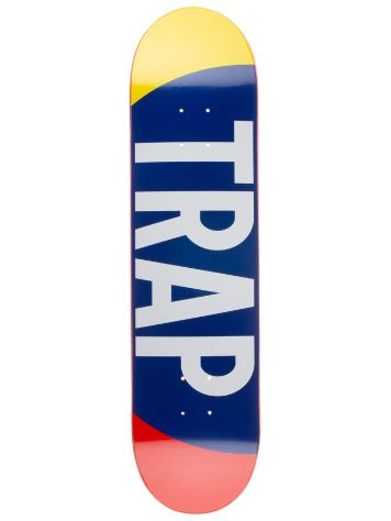 "Trap Big Logo 8"" x 31.875"" Yellow/Red Skate Deck"