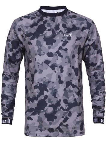 Planks Fall-Line Base Layer Camiseta técnica LS