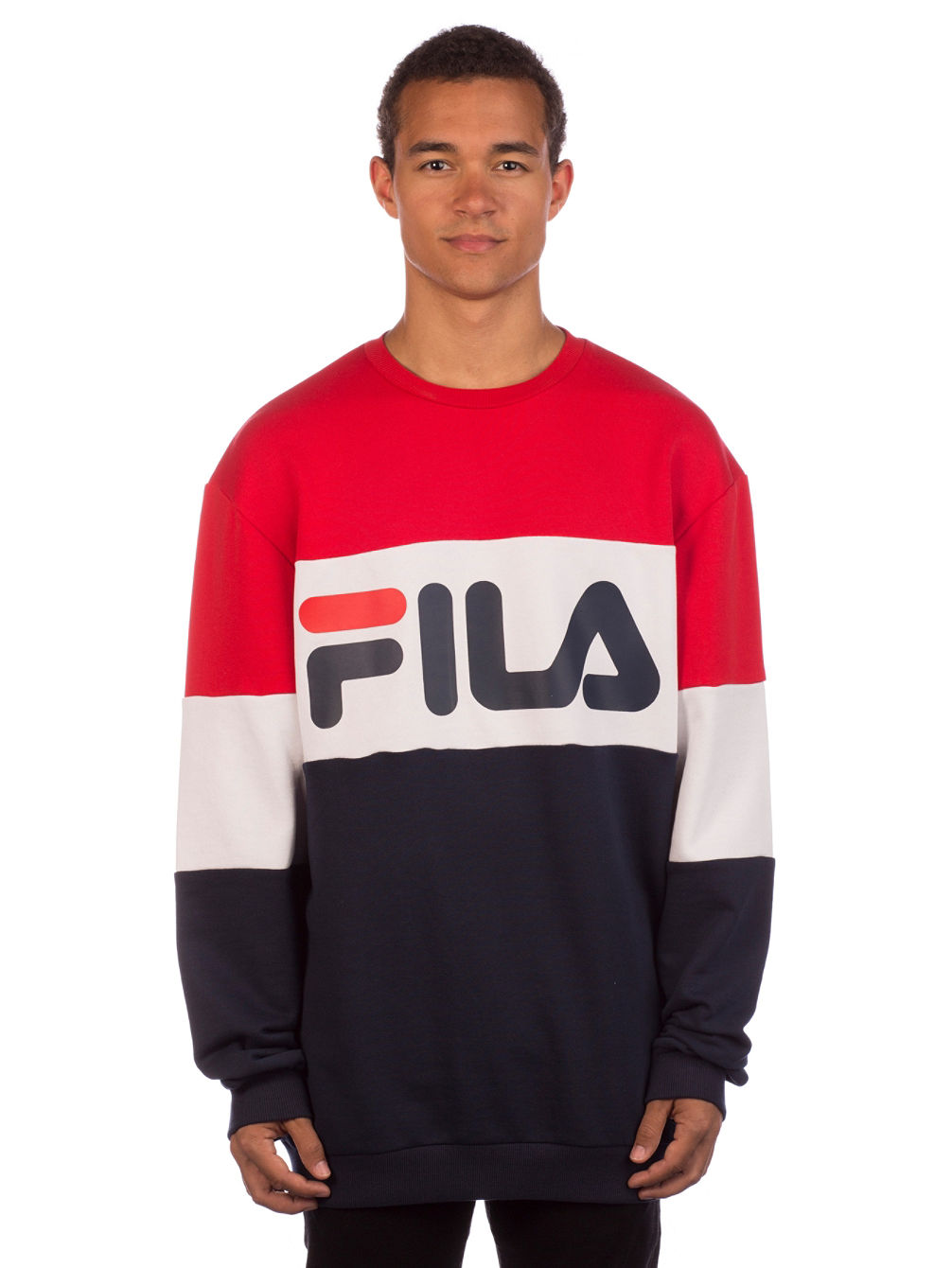 17f939ab43 Buy Fila Straight Crew Sweater online at Blue Tomato