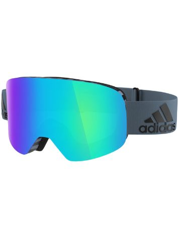 adidas Sport backland raw steel matt Goggle