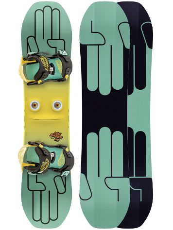 Bataleon Minishred 110 + Mini Shred Bdg 2019 Boys Conjunto snowboard