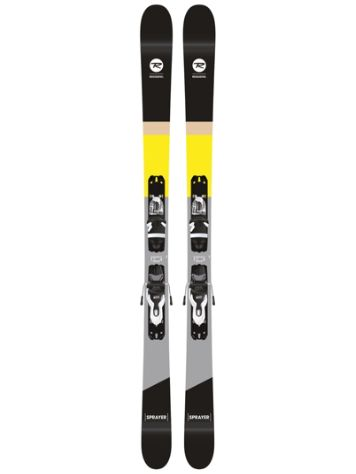 Rossignol Sprayer 158 + Xpress 10 B83 Blk/Wht Freeski-Set