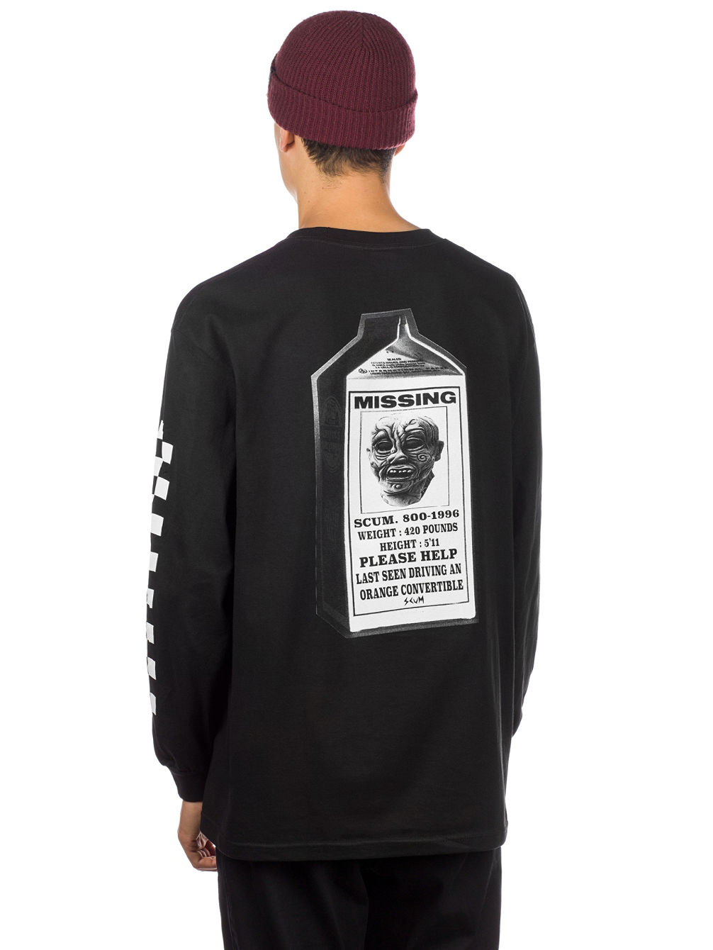 3184fa1a Buy Scum Milk Ratboy Long Sleeve T-Shirt online at Blue Tomato