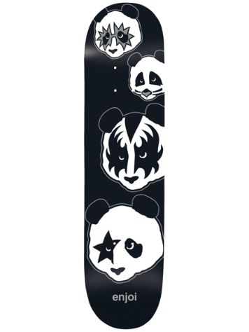 "Enjoi Kiss Logo R7 8.0"" x 31.6"" Skate Deck"