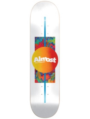 "Almost Gradient HYB 8.0"" x 31.6"" Skate Deck white Gr. Uni"