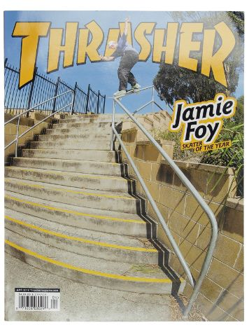 Thrasher Thrasher Issues April 2018