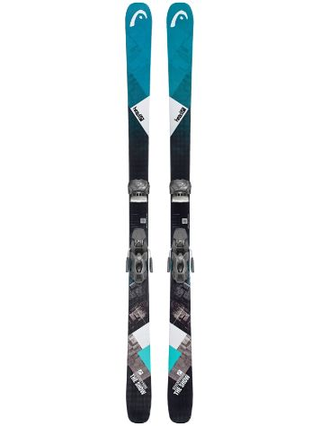 Head The Show 154 + Attack 11 90mm 2019 Conjunto Freeski