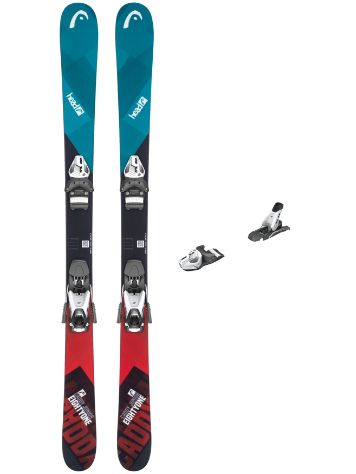 Head Caddy Jr 141 + SX 7,5 90mm 2019 Youth Freeski-Set