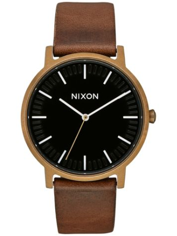 Nixon The Porter Leather Horloge