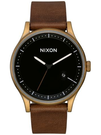 Nixon The Station Leather Montre