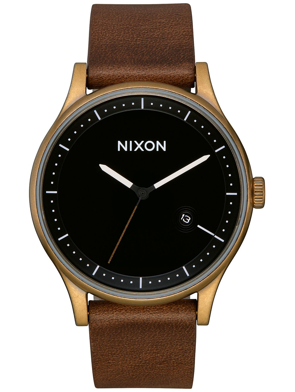 The Station Leather Reloj