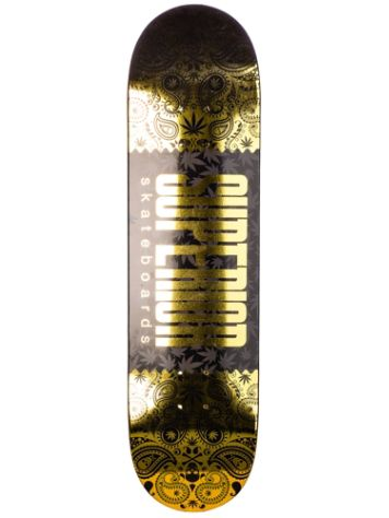 "Superior Foil Hits 8.25"" Skateboard Deck"