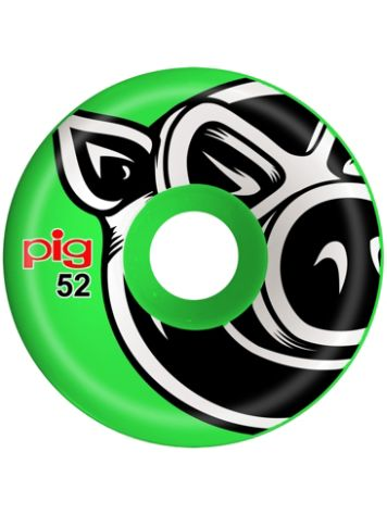 Pig Wheels Head C-Line Green 52mm 101A Rollen