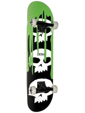 "Zero 3 Skull With Blood Green 7.625"" Complete"
