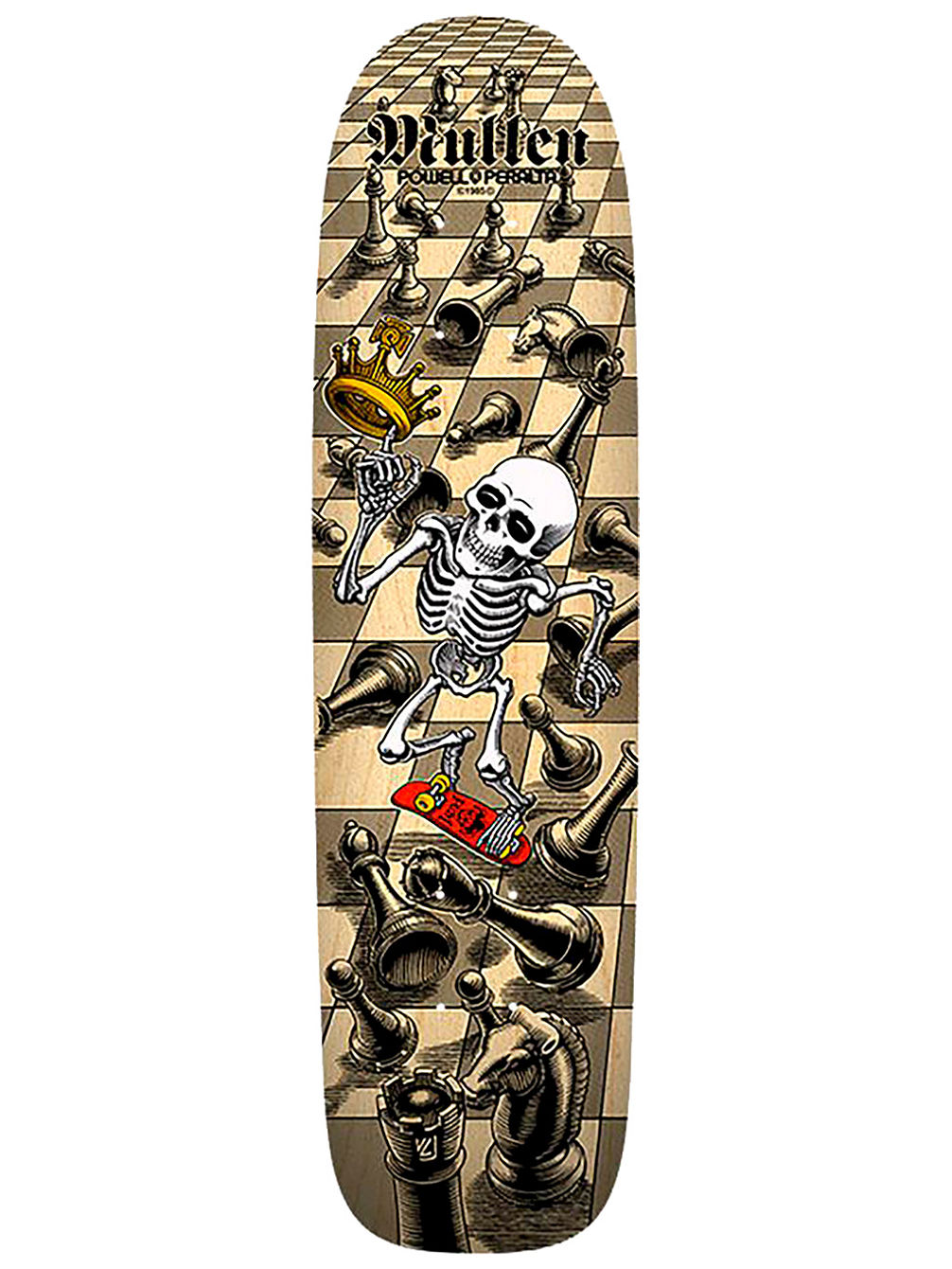 "Rodney Mullen Limited Edition 7.4"" Skate Dec"