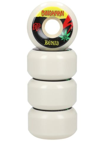 Bones Wheels Stf Bingaman Attitude 83B V5 53mm Wheels