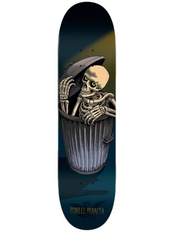 Powell Peralta Garbage Can Skelly Popsicle 8""