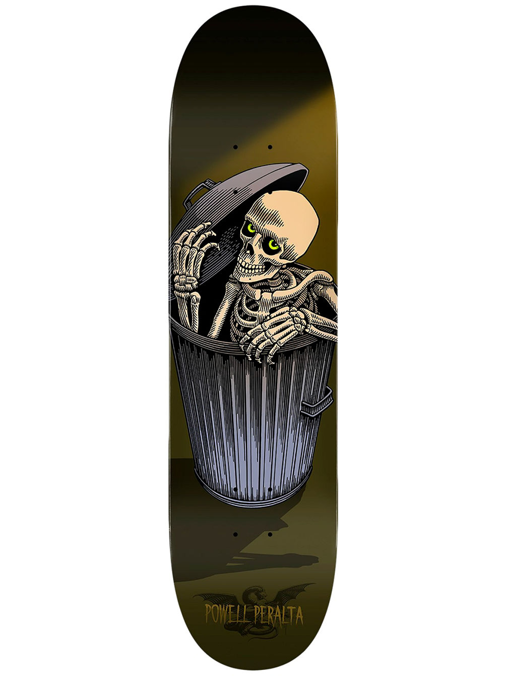 Garbage Can Skelly Popsicle 8.5""