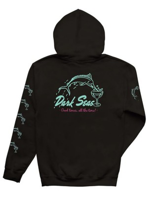 Dark Seas Dino'S Dive Hoodie black Gr. M
