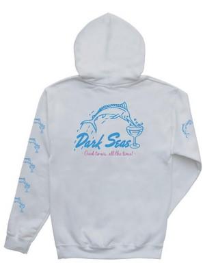 Dark Seas Dino'S Dive Hoodie white Gr. M