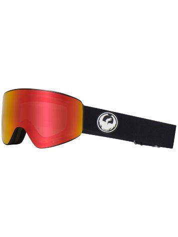 Dragon PXV Black ll red ion+ll ros Goggle