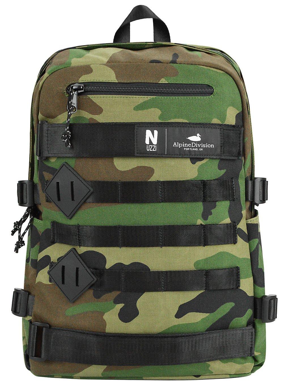 Image of Alpine Division Nuzzi Backpack camo Uni