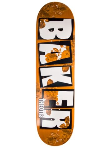 "Baker TB Brand Name Rose Gold 8.25"" Skate Deck"