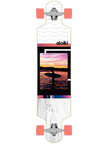 "Aloiki Longboards Quadratel 40.2"" FS Mini Drop Complete"