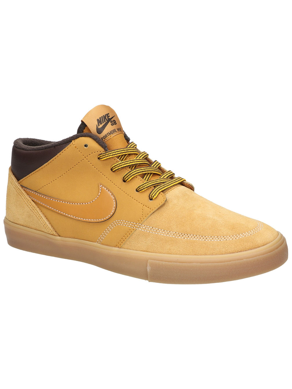 best sneakers 26d2b 207cb Nike SB Portmore II Solarsoft Mid Bota Winterschuhe online kaufen ...