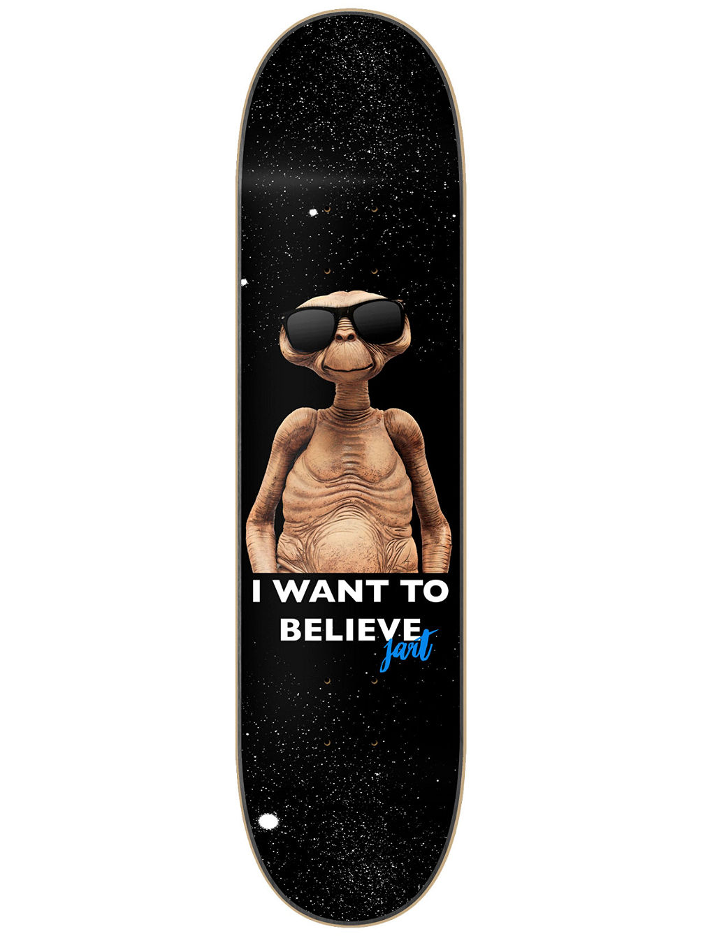 "I Want To Believe 7.87"" LC Skateboard Deck"
