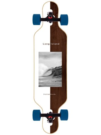 "Long Island Longboards Midnight 37"" Drop Compleet"