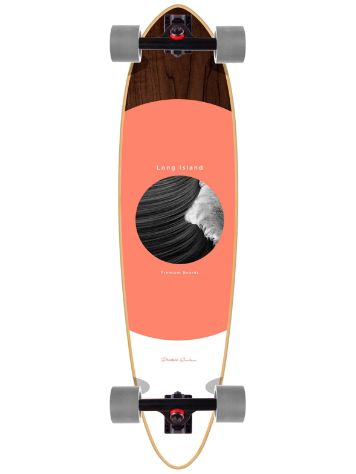 "Long Island Longboards Mitic 35"" Pintail Compleet"