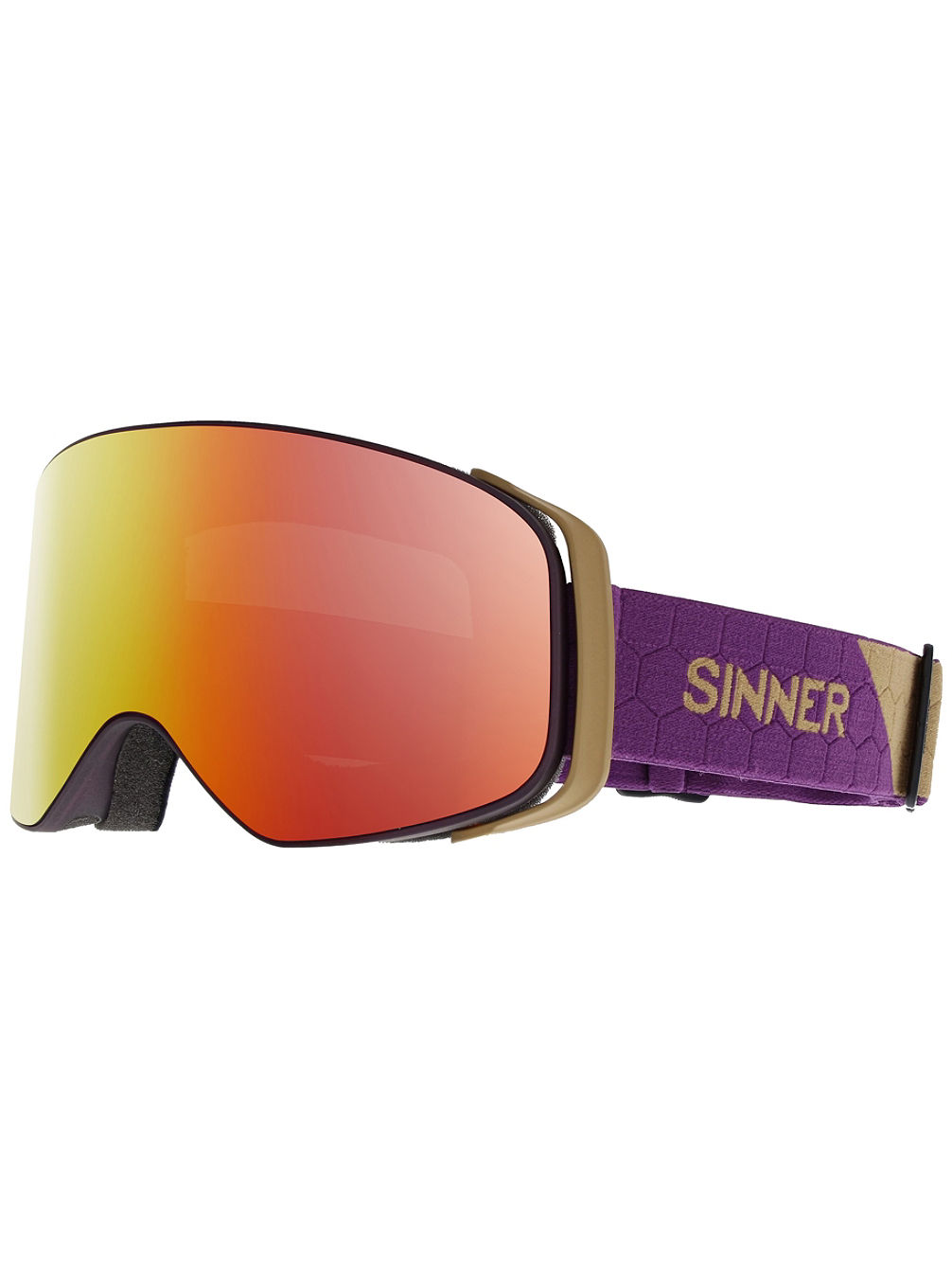 Olympia Transparent Purple Goggle