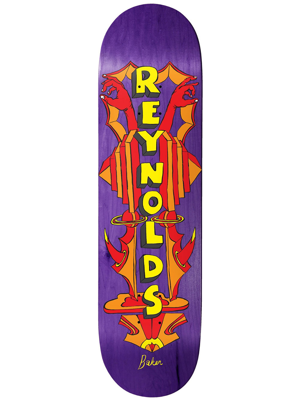 Reynolds Totem 8.0'' Skateboard Deck