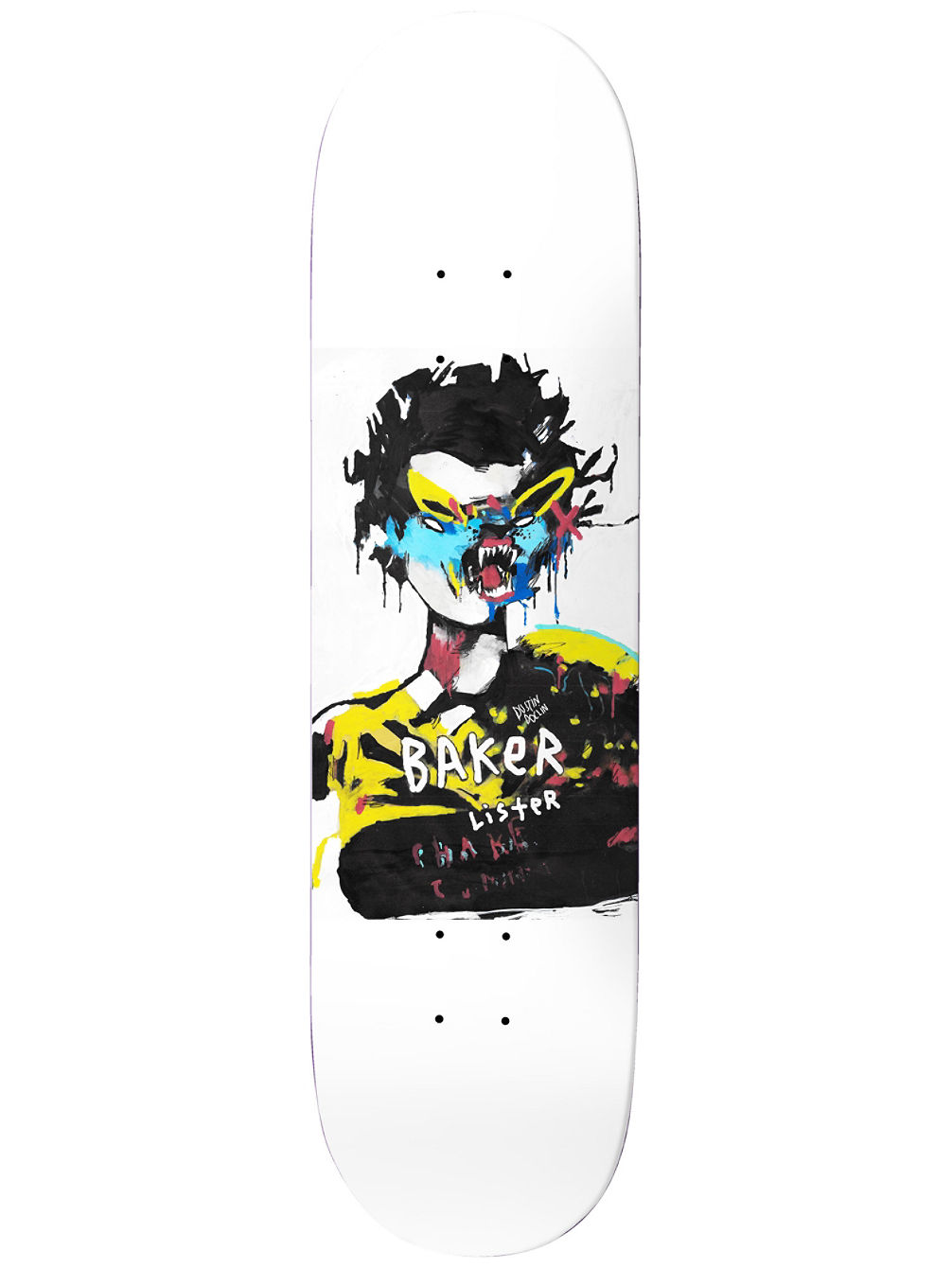 Dollin Lister 8.0'' Skateboard Deck