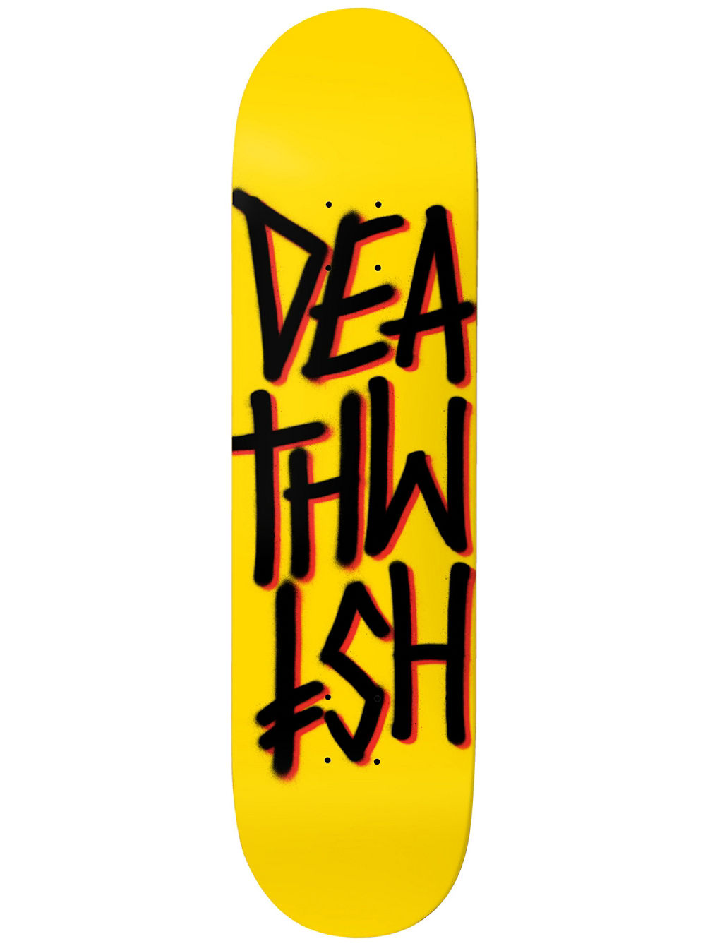 Deathstack Yellow Black 8.475'' Skateboa