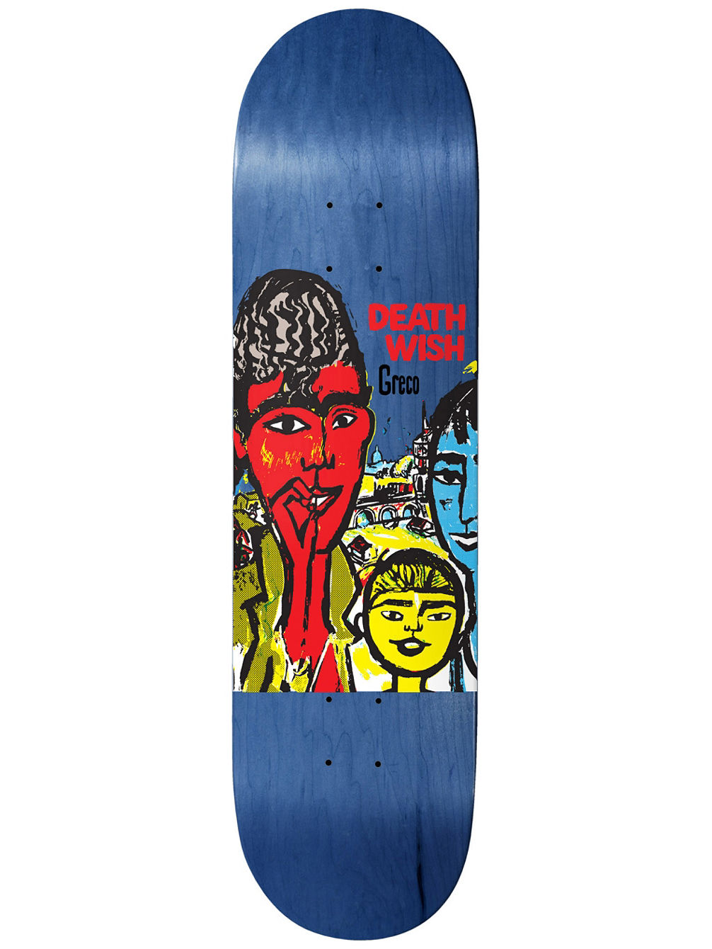 Greco Street Kids 8.475'' Skateboard Dec