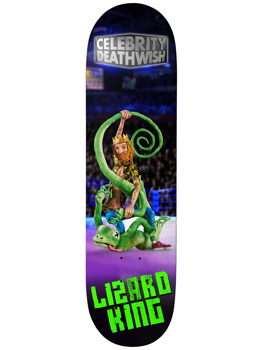 Lizard Celebrity 8.0'' Skateboard Deck