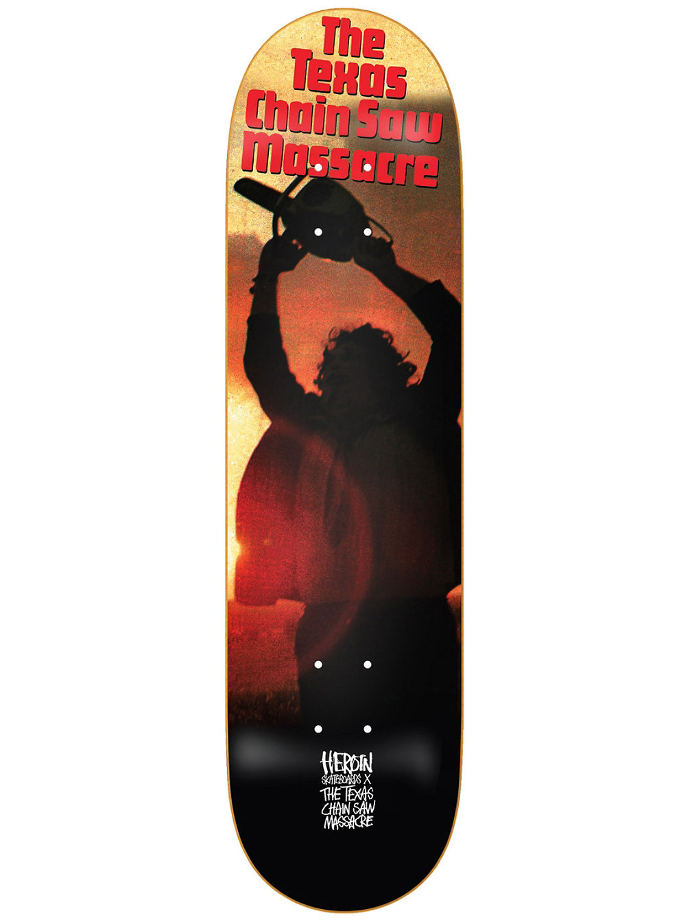 The TCM Leatherface 8.5'' Skateboard Dec