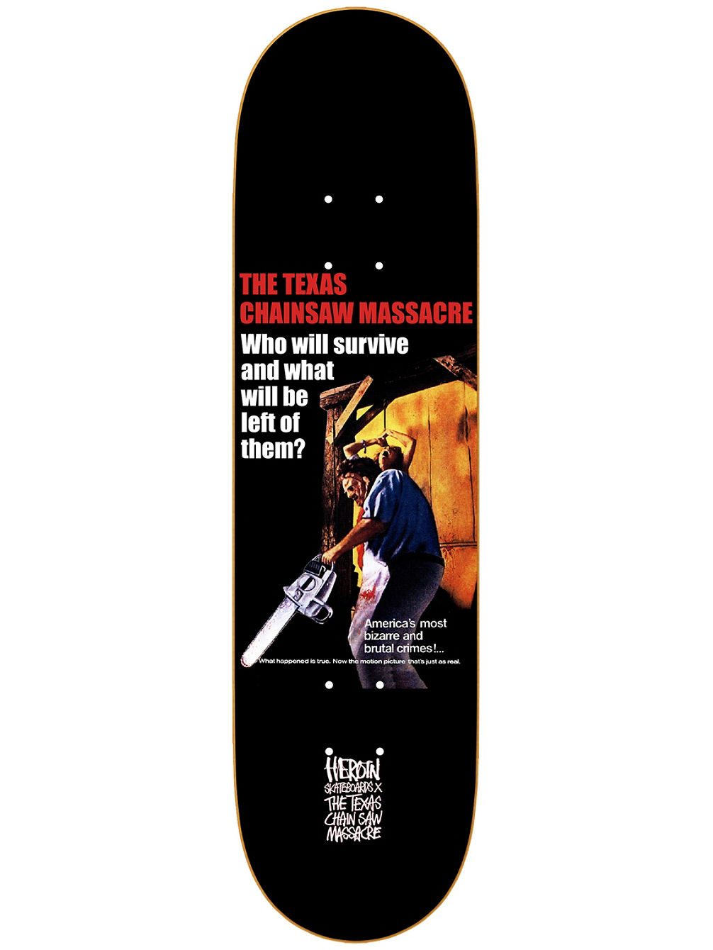 The TCM Who Will Survive 8.25'' Skateboa